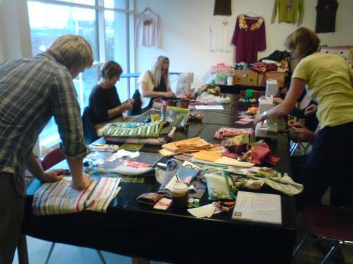 Workshop på Frlunda kulturhus.