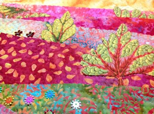 Morgonrodnad, detalj • 30 x 30 cm • Gunnel Wright