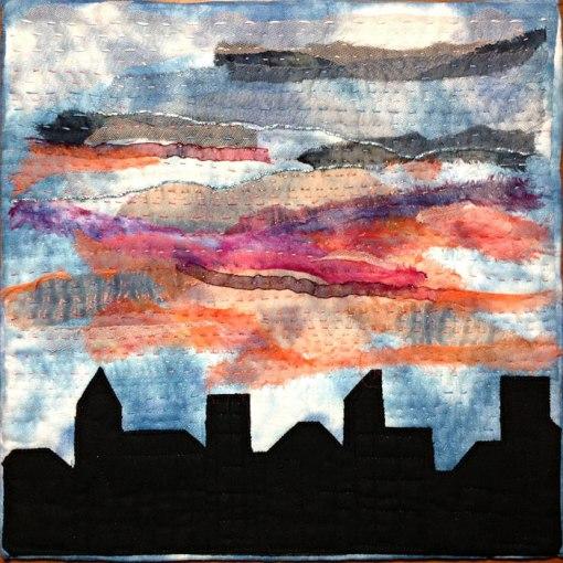 Morgonrodnad • 30 x 30 cm • Patricia Visser