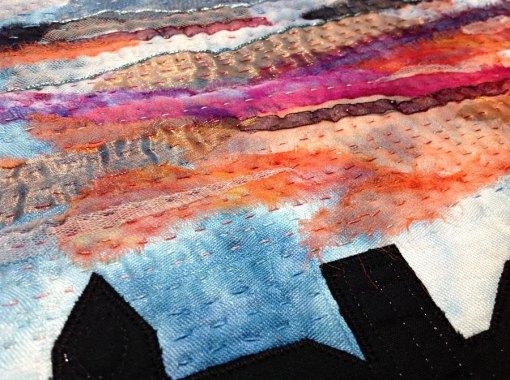 Morgonrodnad, detalj • 30 x 30 cm • Patricia Visser